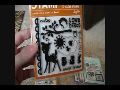 New American Crafts Stamps by GingerCupcake!
