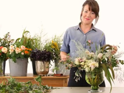 One Kings Lane: How to Create a Bedroom Floral Arrangement