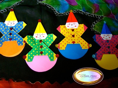Origami Maniacs 123: Origami Clown