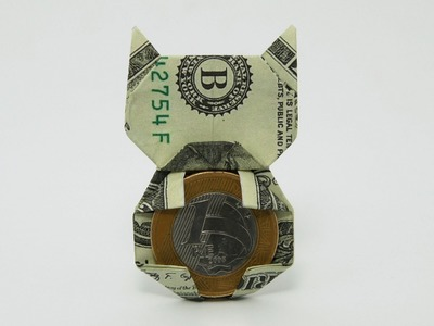 Origami Money Cat (Jo Nakashima)