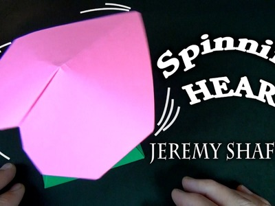 Origami Spinning Heart