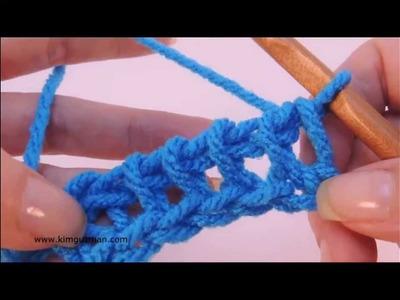 Tunisian Crochet: Purl Stitch