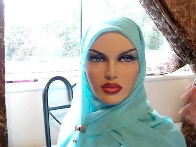 Work Hijab Style - School Hijab Style - Hijab Tutorial DIY