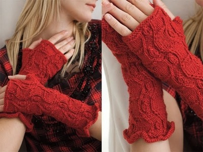 #32 Fingerless Gloves, Vogue Knitting Fall 2011
