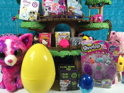 Beanie Boos Shopkins Zelfs Unicornos Play-Doh Surprise Eggs Blind Bag Treehouse Unboxing