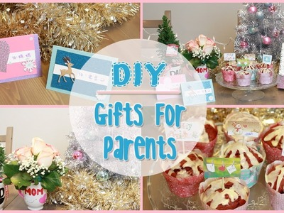 DIY: Holiday Gift Ideas for Parents | ilikeweylie