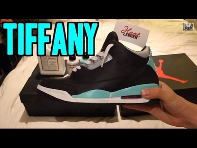 DIY Jordan 3 'Tiffany' Custom Tutorial