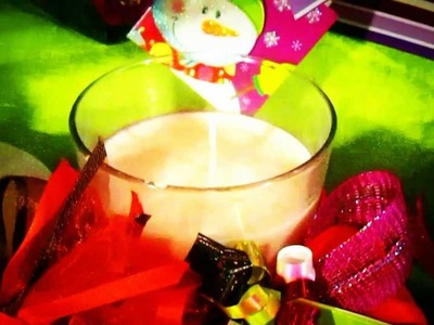 . ::*DIY*::.  Make your own candles - DIY Christmas Candles