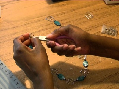 DIY Paper Clip Jewelry - Freestyle Friday #15