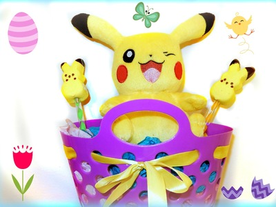 DIY Pikachu Peeps For Easter!