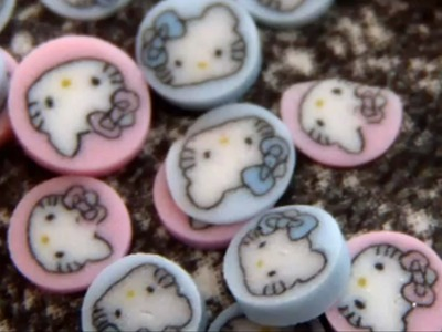 DIY: Polymer Clay *Hello Kitty Cane & Donuts*