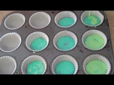 DIY: Rainbow Cupcakes  ♡ Theeasydiy #ChefJess