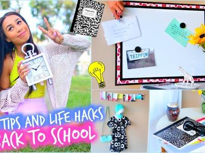 DIY Room Decorations + MAJOR Life Hacks for Back To School!