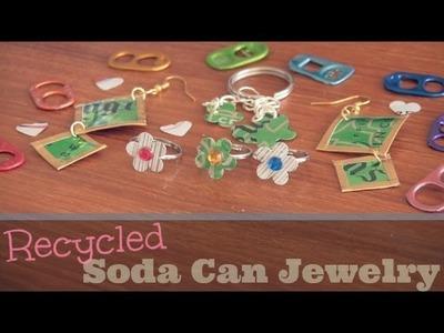DIY: Soda Can Jewelry