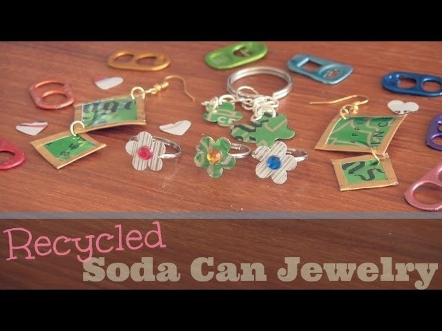 DIY: Soda Can Jewelry