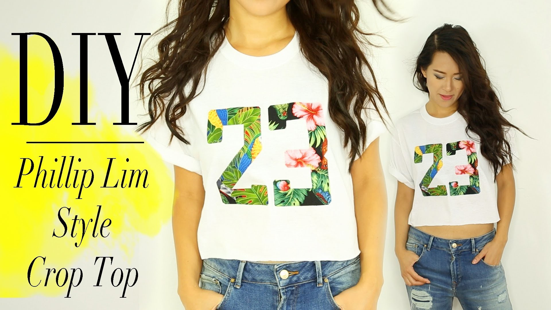 DIY Super Simple Graphic Tee by ANNEORSHINE