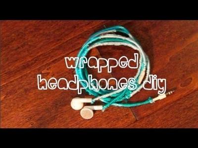 DIY Wrapped Headphones