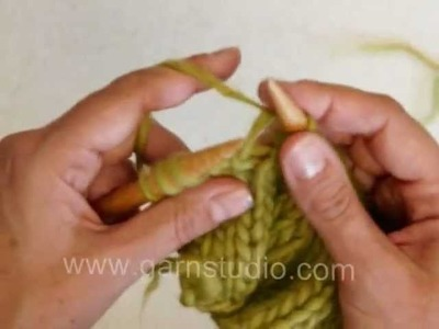 DROPS Knitting Tutorial: How to switch from one skein to next when knitting
