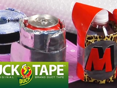 Duck Tape Craft Ideas: How to Make a Drink Koozie