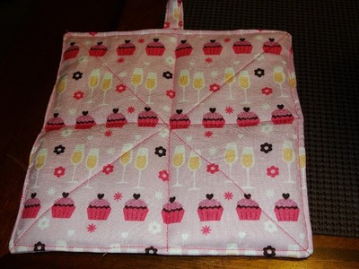 EASY!! How to Make a Hot Pad (Tutorial) hotpad pot holder