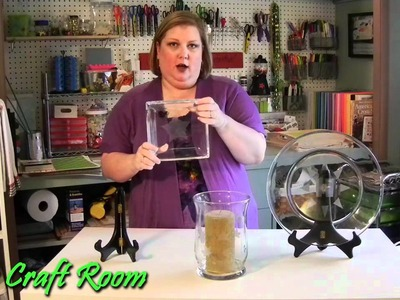 Glass Etching - AJ's Craft Room  (Great Home Decor Idea)