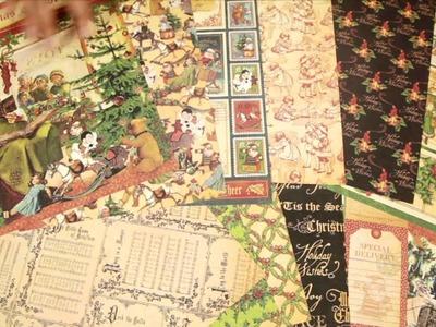 Graphic 45 - Christmas Emporium Scrapbook Collection