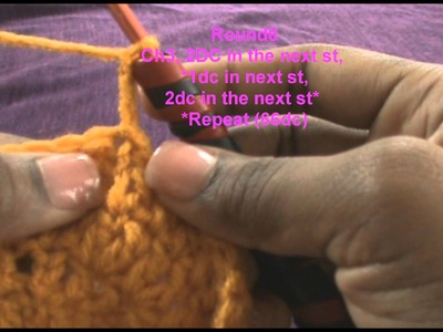 How to Crochet a Extra Slouchy Beanie pt 1