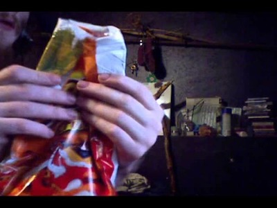 How to fold a chip bag so that it stays fresh with no clip : origami