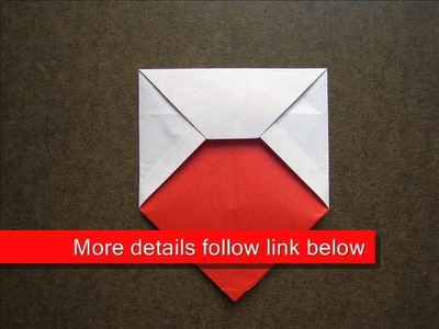 How to Fold Origami Envelope with Heart - OrigamiInstruction.com