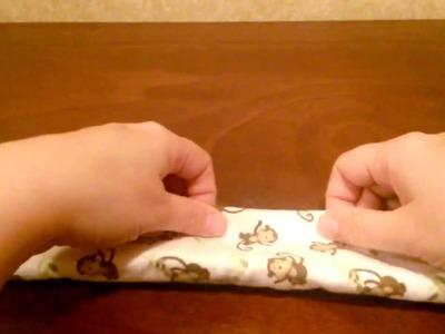 How to make a Receiving Blanket Cupcake (Tutorial) by shopbgd.com
