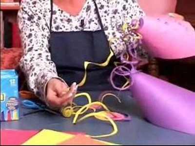 How to Make Party Hats : How to Make a Birthday Hat With Construction Paper