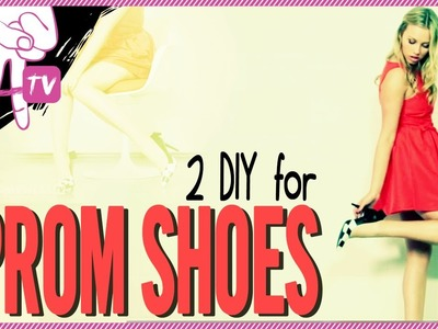 How to Paint Your Shoes like Louis Vuitton - 2 DIY For Ep. 17
