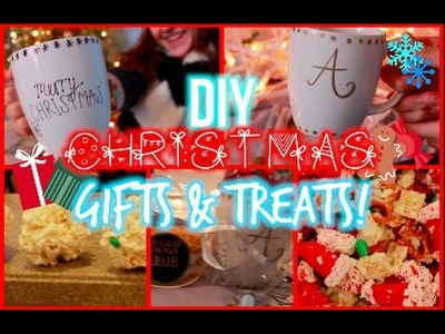 Inexpensive DIY Christmas Gifts + Treat Ideas!