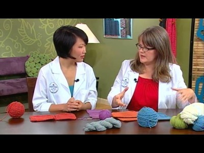 Knitting Daily TV Yarn Spotlight, Episode 1012 - Woolen vs. Worsted Yarns