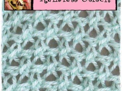 Loom Knitting Rainfall Stitch