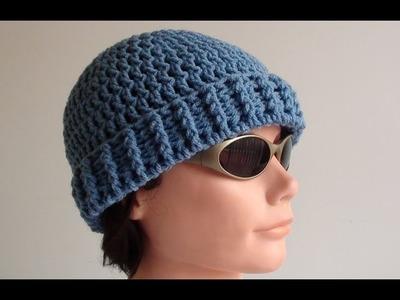 Mens Crochet Beanie - Mens Crochet Beanie Hat