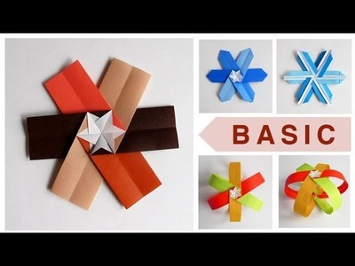 Modular Origami Snowflake - BASIC