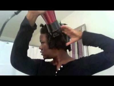 Preparing my Hair for Micro n Crochet Weave Style