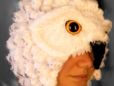 Progession of a Pattern: Loom Knitting a Realistic Owl Hat