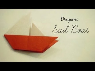 Sail Boat Origami Instructions (Traditional Origami)
