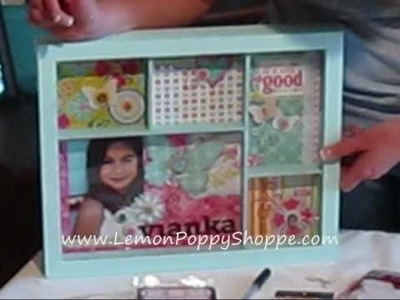Shadow Box Scrapbooking Project