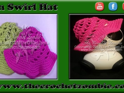 Swirl Sun Hat 1 - 3 Years