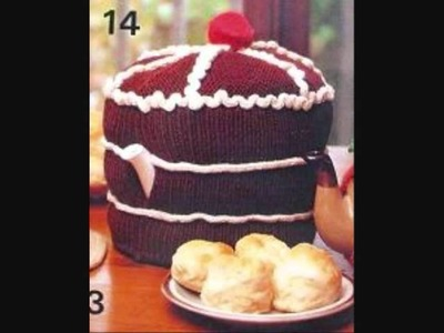 Tea Cosy knitting & crochet patterns from retroknittingsite.com