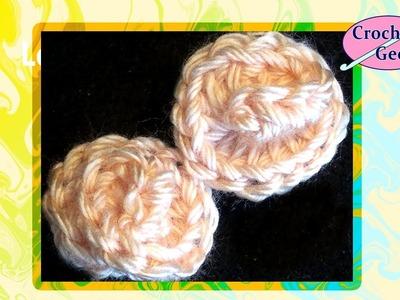 Tiny Crochet Flower Blossom CrochetGeek Crochet Geek