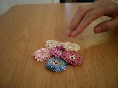 Tutorial on Crocheted Flowers I Sent To Tina (DreamBigLover) Coming Soon!
