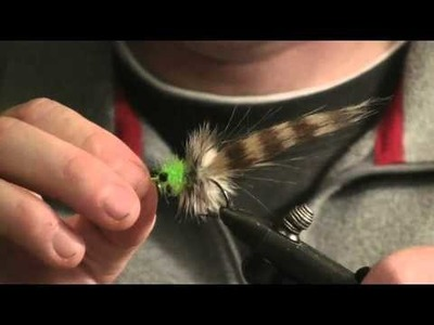 Tying Borski's Craft Fur Shrimp- Part 3.3 Redfish Fly