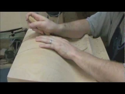 Woodworking:  Routing and Carving on an odd shape