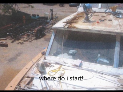 1968 41 ft chris craft restoration