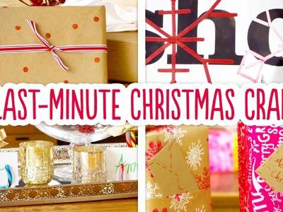 4 Last-Minute Christmas Crafts