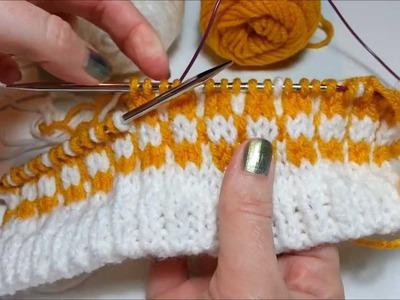 Avoiding Long Floats in Stranded Knitting